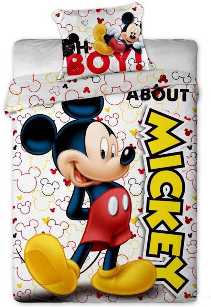 Disney Mickey Mouse   About 140x200 + 63x63cm micro