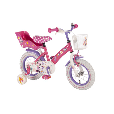 Disney Minnie Bow-Tique meisjesfiets - 12 inch - roze