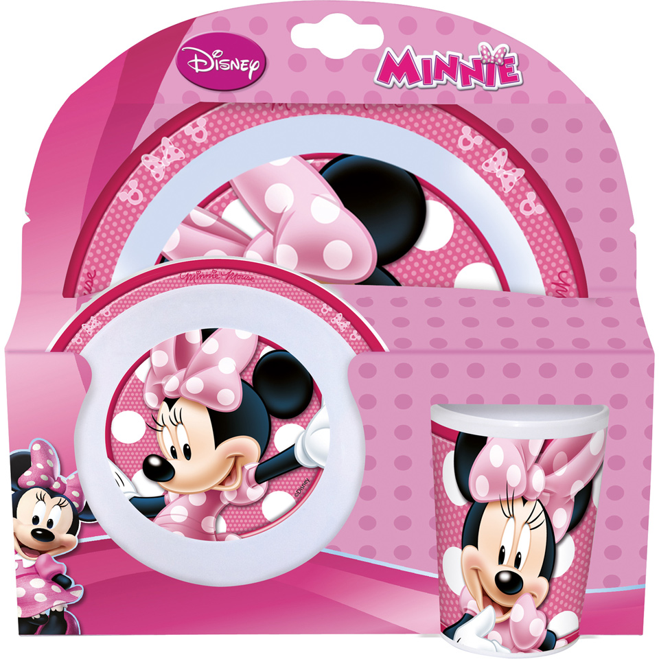 Disney Minnie Mouse kinderservies 3-delig