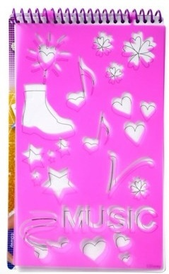 Disney Violetta Music Fashion schetsblok 14 x 24 cm