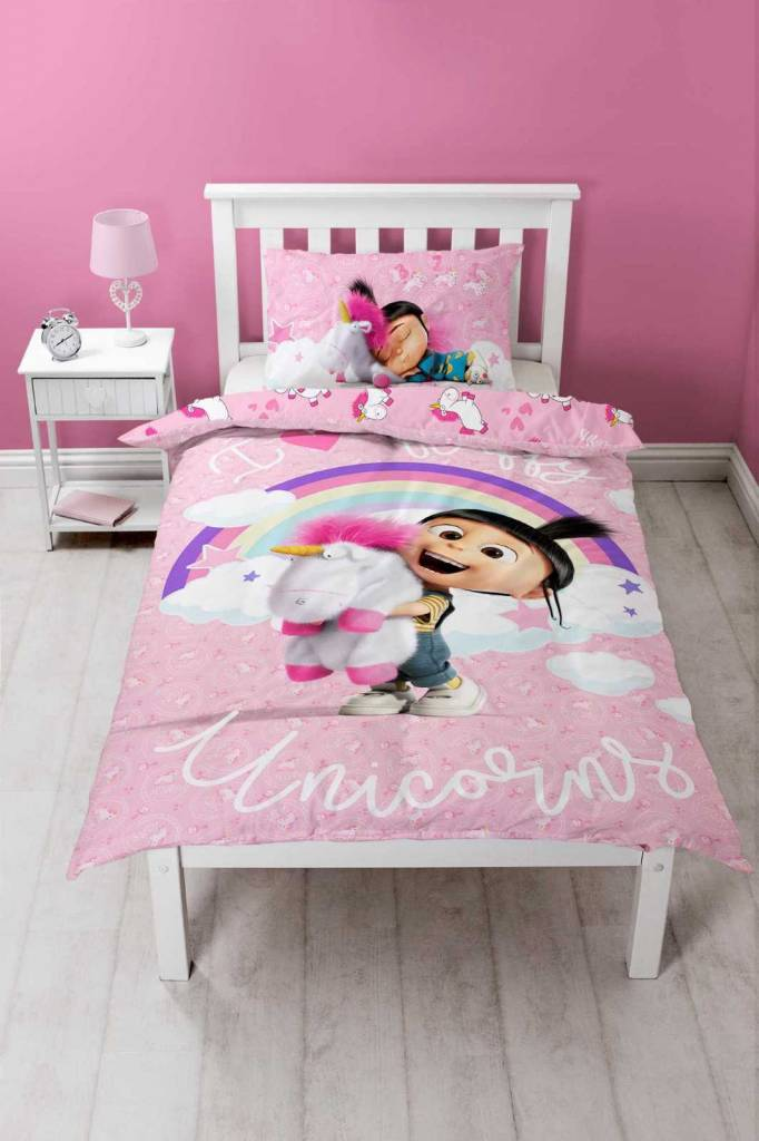 Dispicable Me 3 Daydream -   - Eenpersoons - 200 x 200 cm - 48 x 74 cm - polycotton
