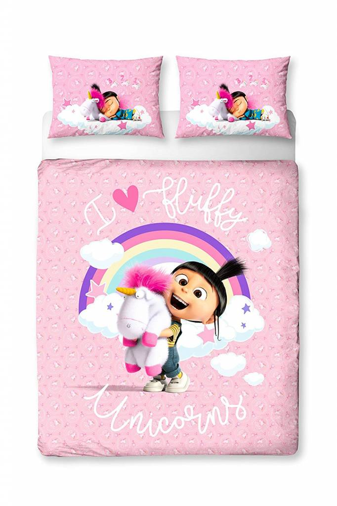 Dispicable Me 3 Daydream -   - tweepersoons - 200 x 200 cm - 48 x 74 cm -Polycotton