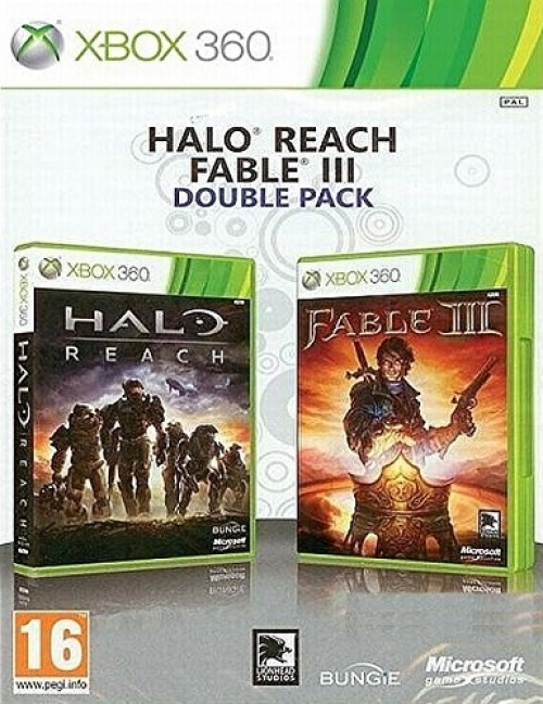 Double Pack Halo Reach + Fable 3