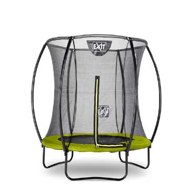 EXIT Silhouette trampoline rond - 183 cm - groen