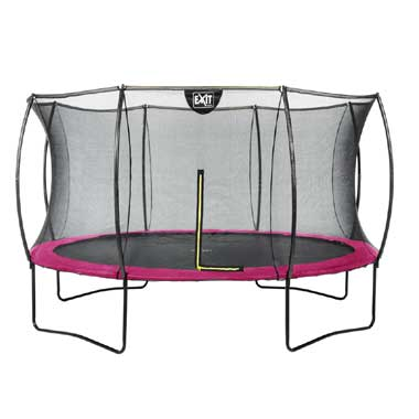 EXIT Silhouette trampoline rond - 366 cm - roze