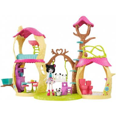 Enchantimals Panda Boomhut - speelset