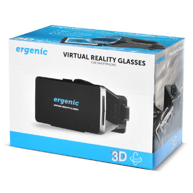 Ergenic 3D virtual reality bril