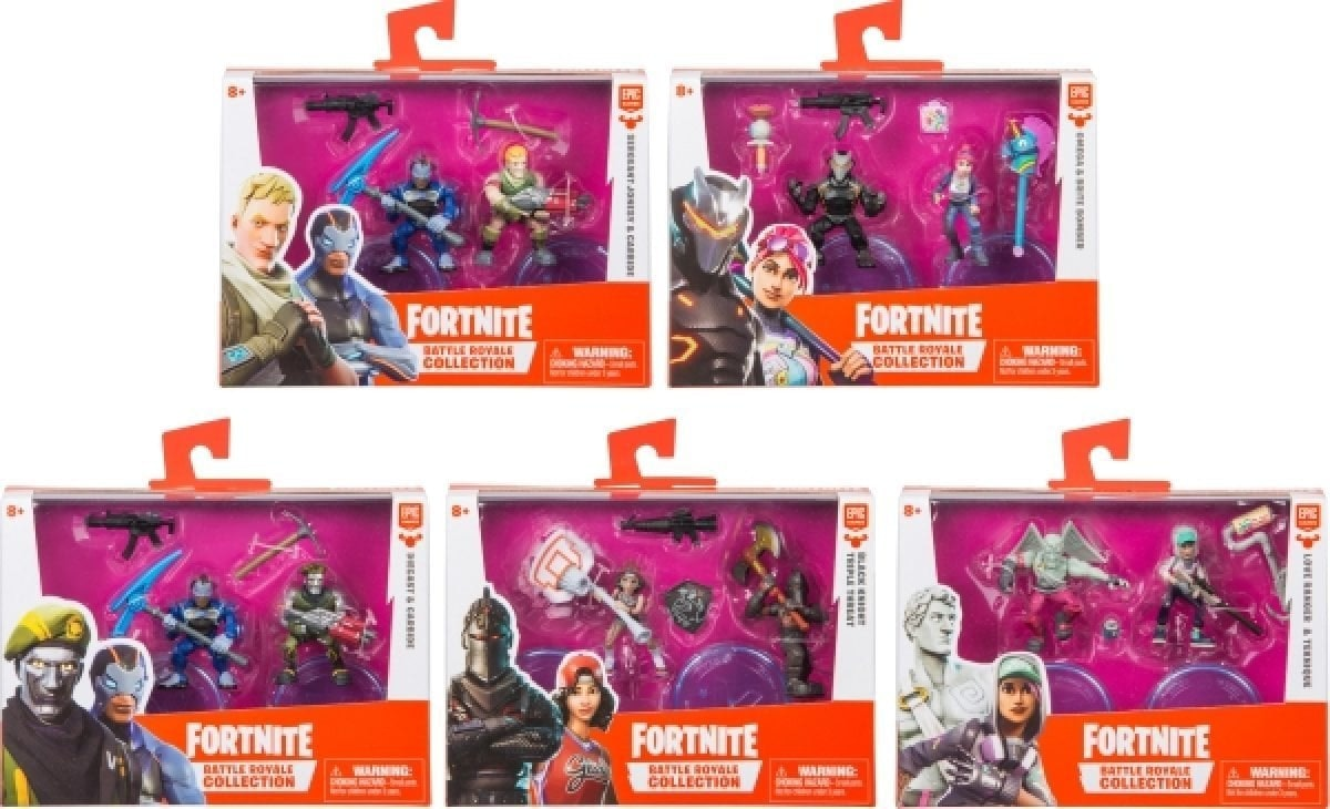 FOR-Fortnite duo figuur