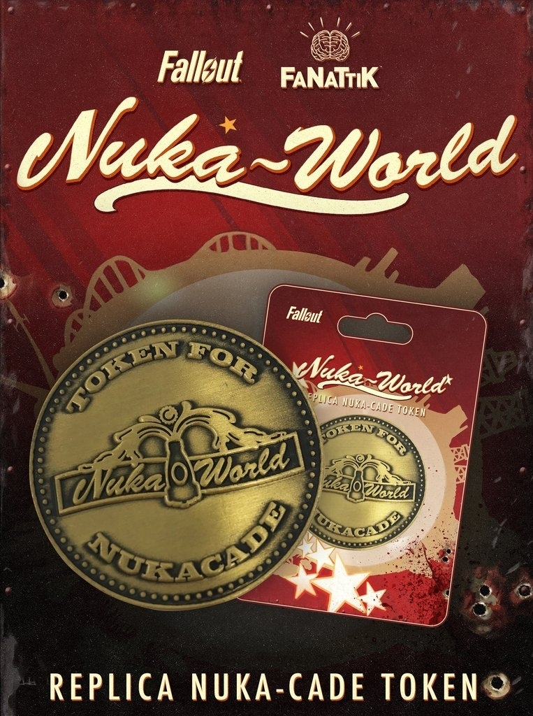 Fallout Nuka World Replica Nuka-Cade Token