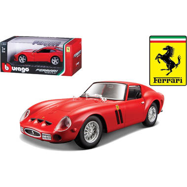 Ferrari 250 gto race& play 1:24 rood