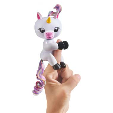 Fingerlings eenhoorn Gigi - wit