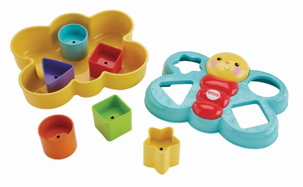 Fisher Price Sorteerpret vlinder