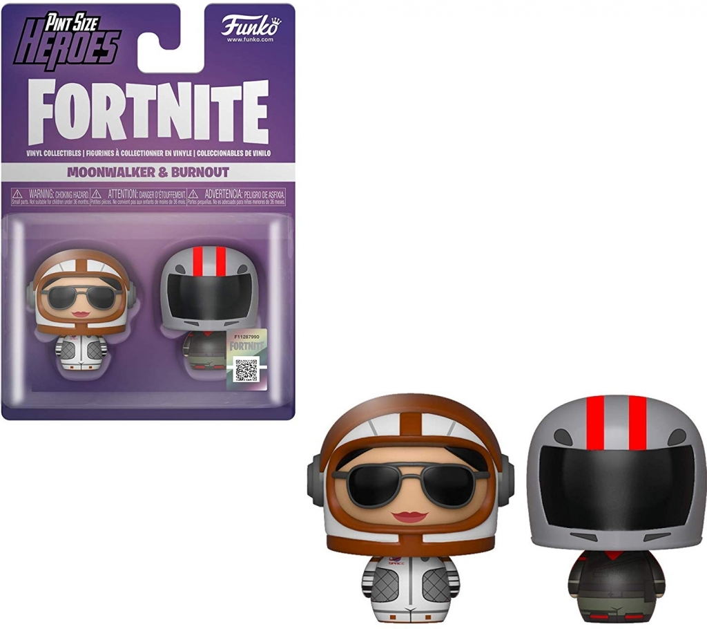 Fortnite Pint Size Heroes 2-pack - Moonwalker & Burnout