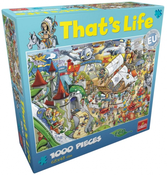 Goliath That\s Life Amusement Park legpuzzel 1000 stukjes