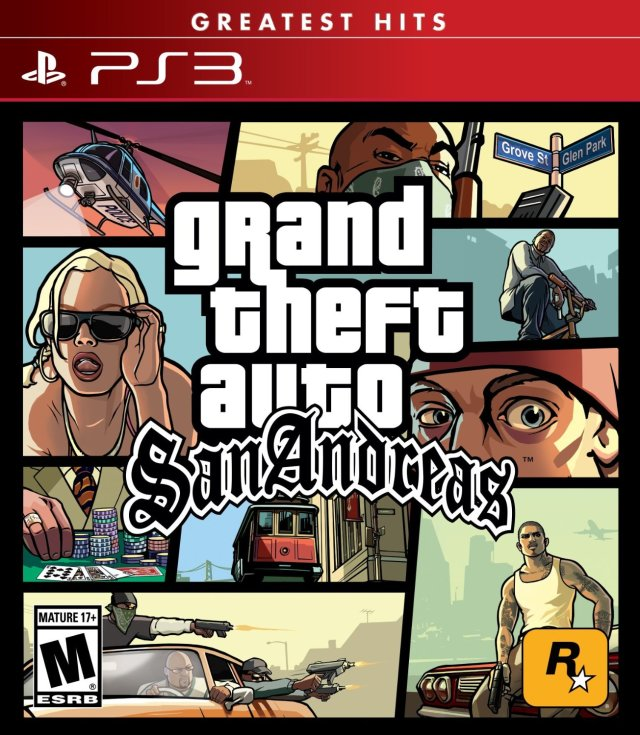 Grand Theft Auto San Andreas (greatest hits)