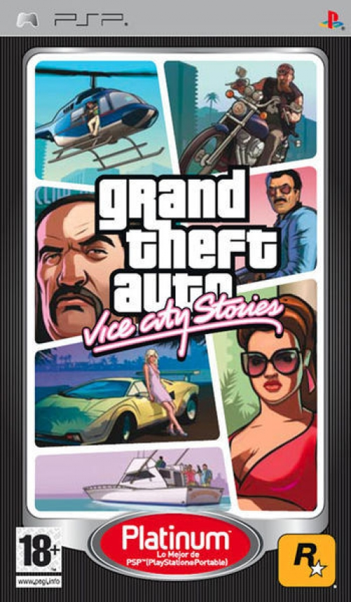 Grand Theft Auto Vice City Stories (platinum)