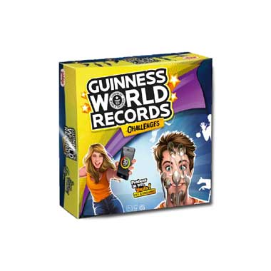 Guinness World Records Challenges - bordspel