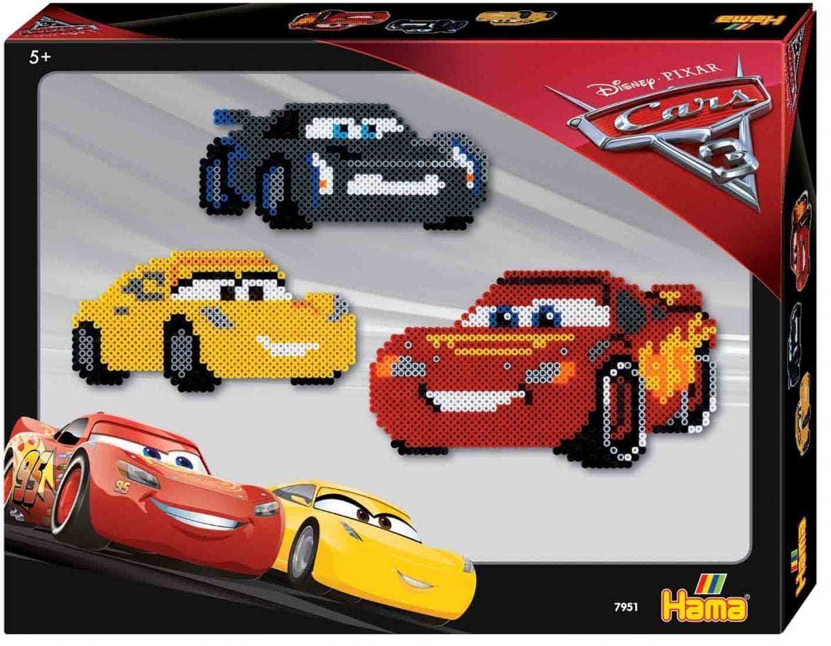 Hama strijkkralen Cars