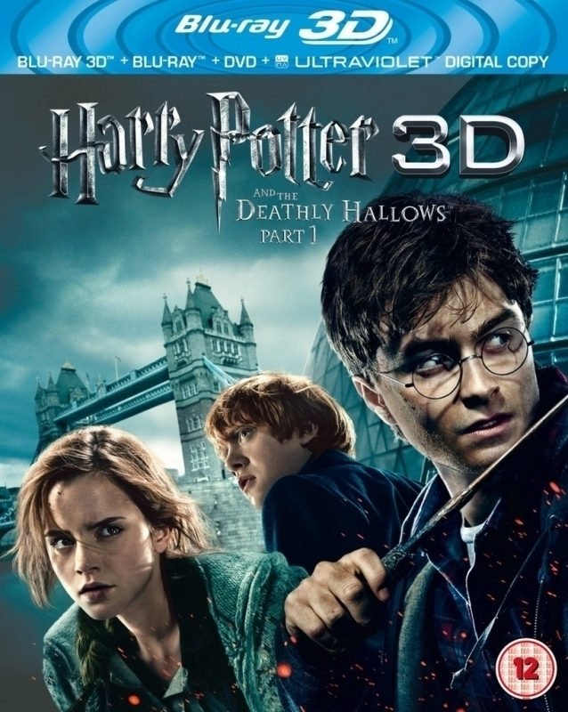 Harry Potter and the Deathly Hallows Part 1 3D (3D & 2D Blu-ray)