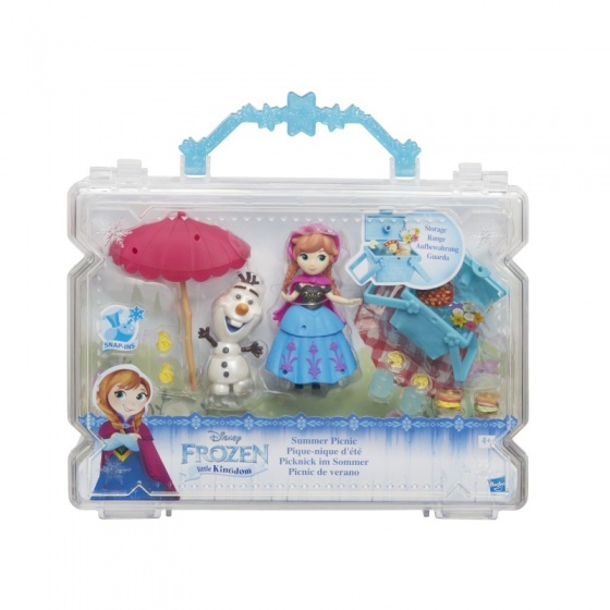 Hasbro Disney Frozen speelset Little Kingdom Summer Picnick