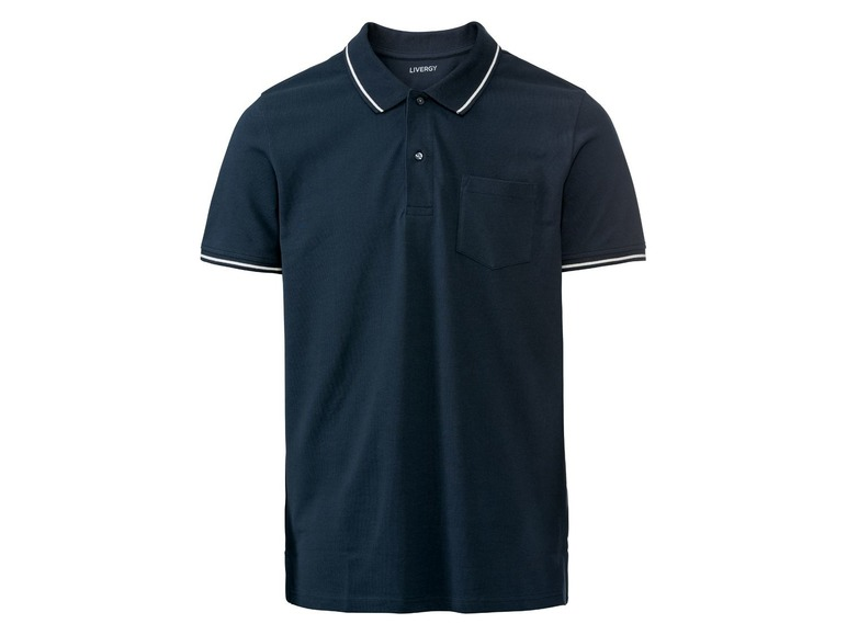 Heren polo XL (56/58), Donkerblauw