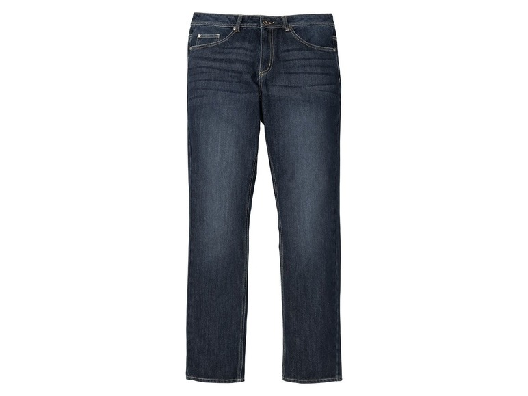 Heren thermojeans - straight fit 52 (36/34), Blauw