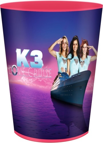 K3 beker frosted love cruise