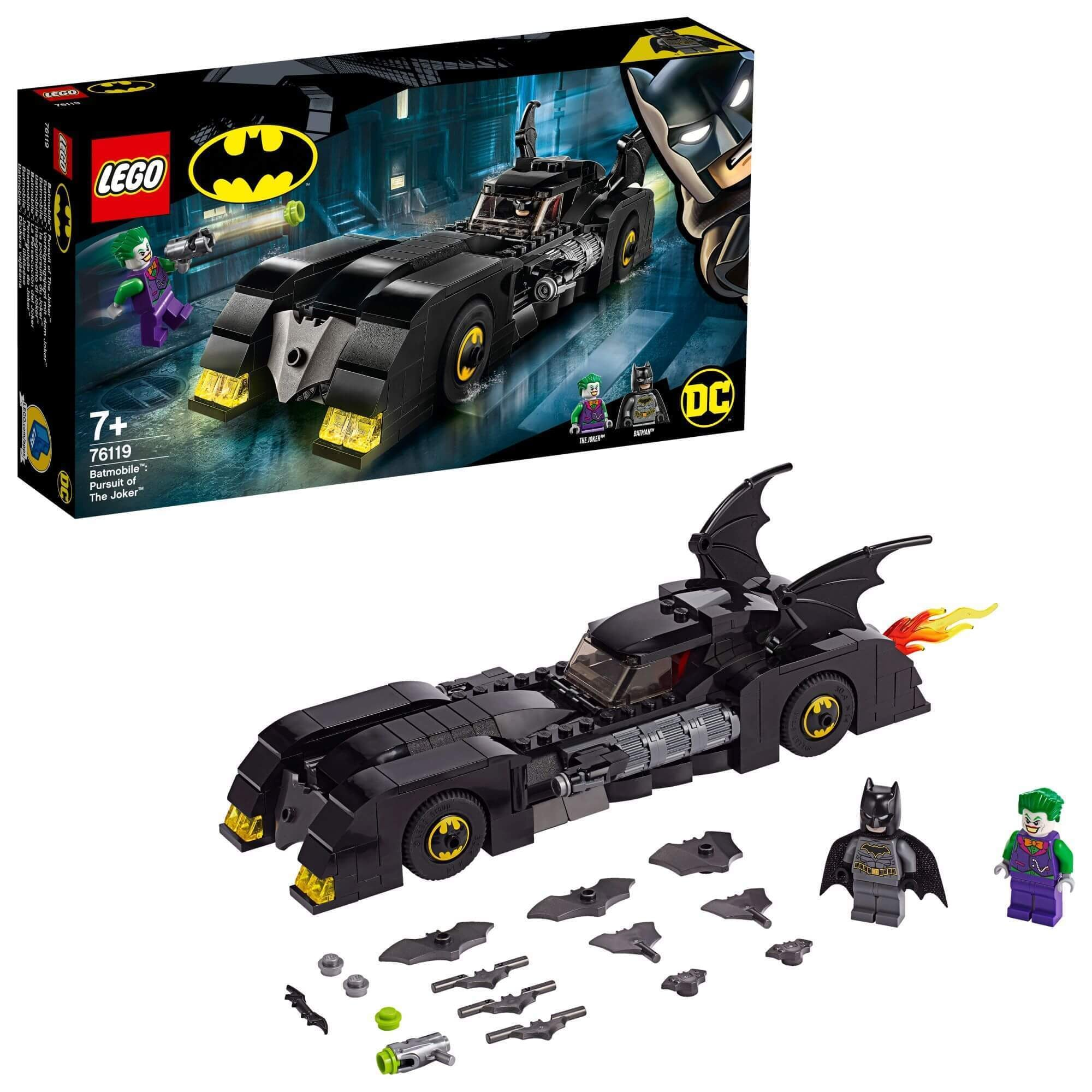 LEGO® 76119 Super Heroes Batmobile™: de jacht op The Joker™