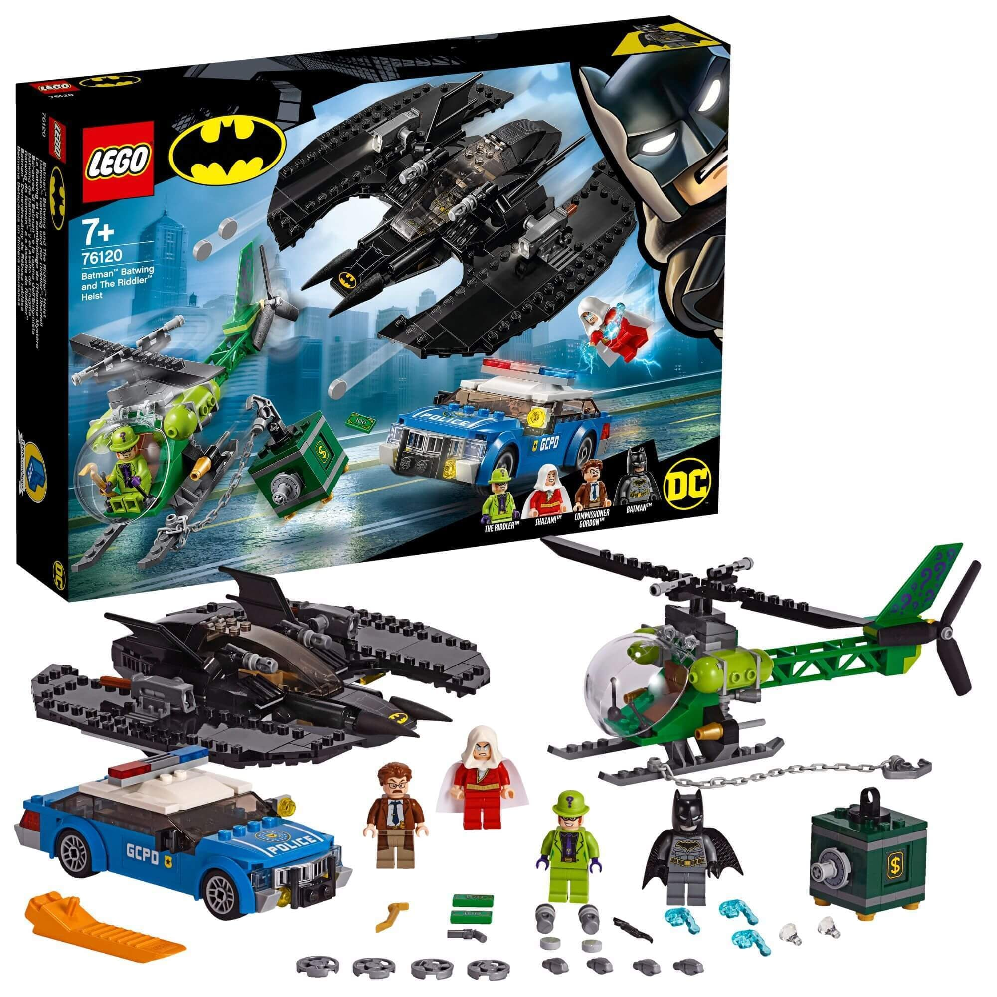 LEGO® 76120 Batman™ Batwing en de overval van The Riddler™