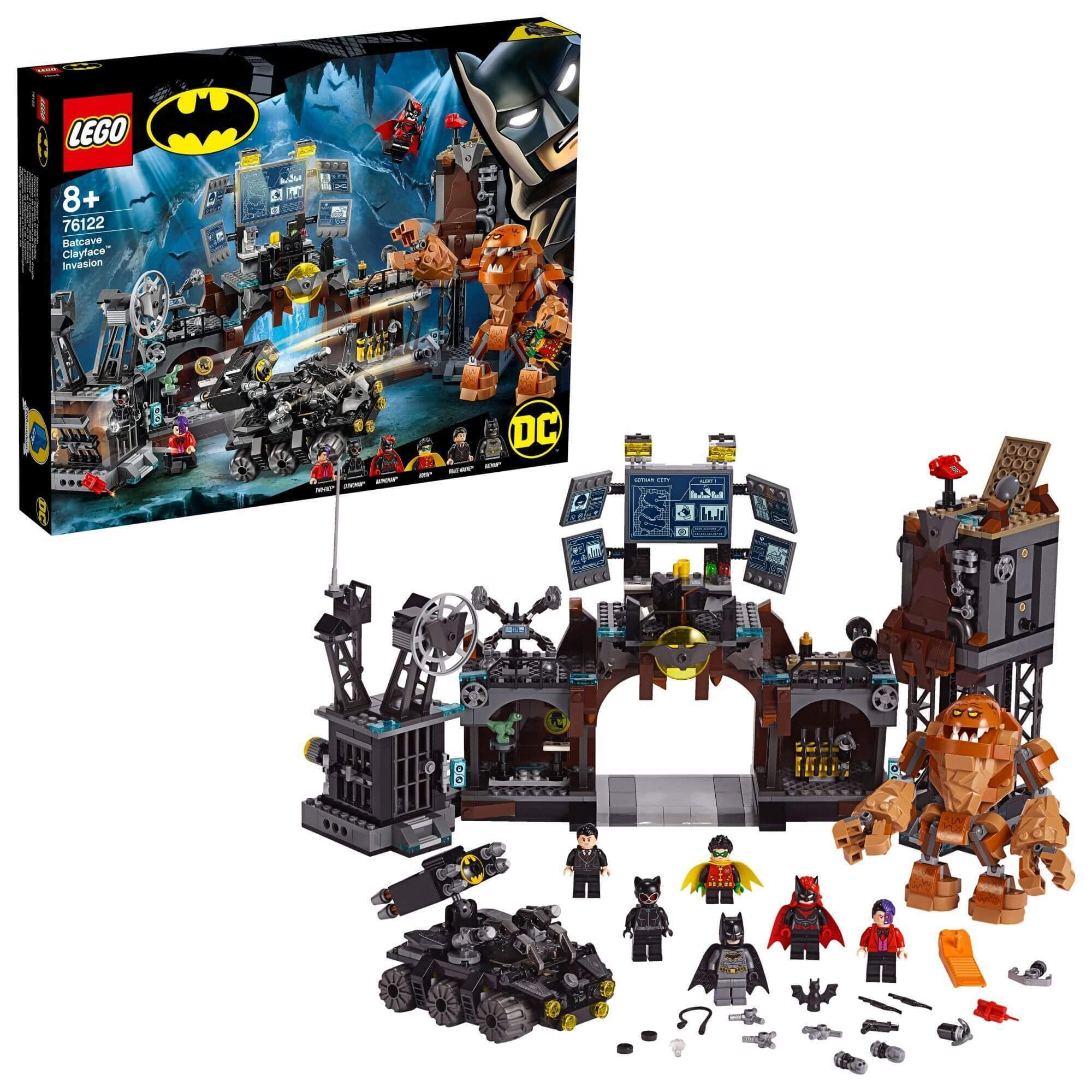 LEGO® 76122 Batcave invasie Clayface™