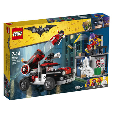 70921 LEGO Batman Movie Harley Quinn kanonskogelaanval