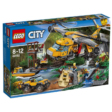 LEGO City Jungle helikopterdropping 60162