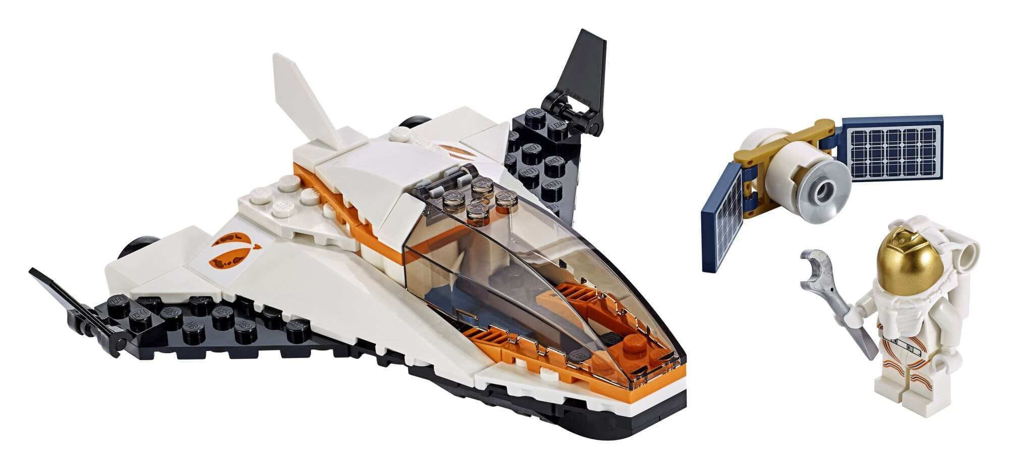 LEGO City Space Port 60224 Satelliettransportmissie