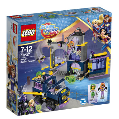 LEGO DC Super Hero Girls Batgirl geheime bunker 41237