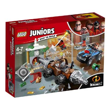 LEGO Juniors underminer\s bankoverval 10760