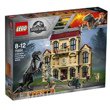 LEGO Jurassic World inoraptorchaos bij Lockwood Estate 75930