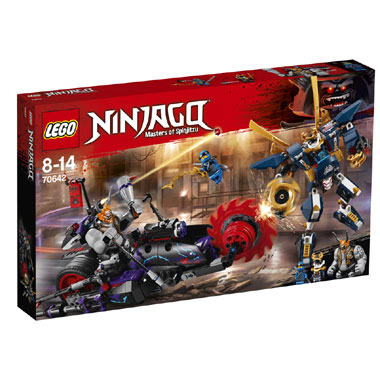 70642 LEGO Ninjago Killow vs. Samoerai X