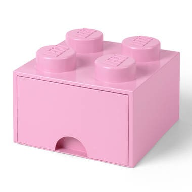 LEGO opberglade Brick 4 - Light Purple