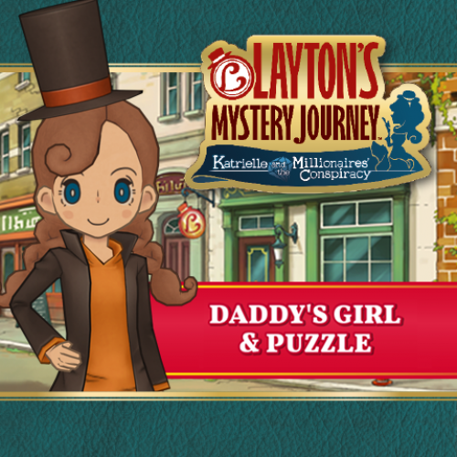 Lady Layton: Daddy\s Girl & Puzzle