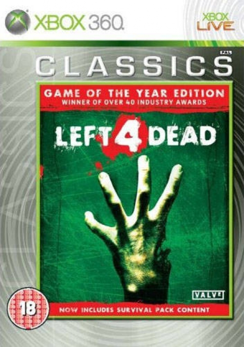 Left 4 Dead Game of the year (classics)