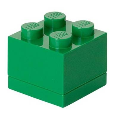 Lego 4011 mini brick box 2x2 groen