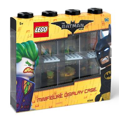 Lego 4065 minifiguur display 8 zwart batman edition
