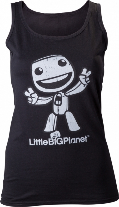 Little Big Planet Black Girls Tanktop