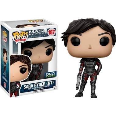 Mass effect andromeda pop vinyl : sara ryder n7 limited edition - actiefiguur
