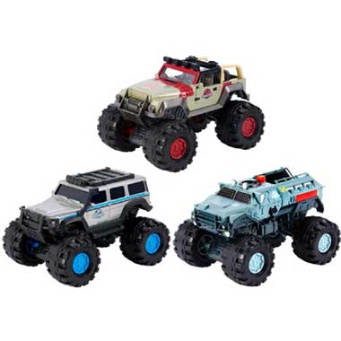 Matchbox Jurassic World movie trucks - 1:24 trucks