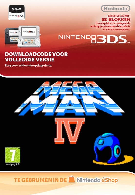 Mega Man 4 Virtual Console
