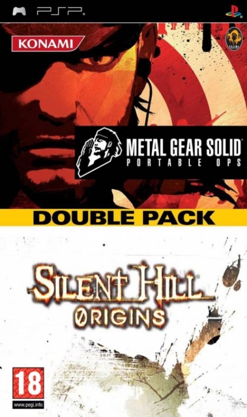 Metal Gear Solid Portable Ops + Silent Hill Origins