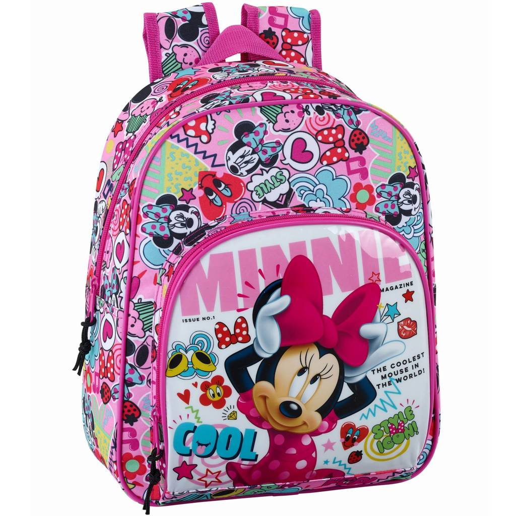 Minnie Mouse Rugzak Cool - 34 x 28 x 10 cm - polyester