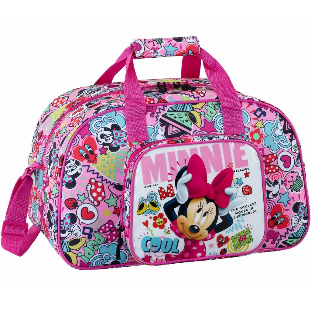 Minnie Mouse sporttas Cool Multi 40 x 24 x 23 cm - polyester