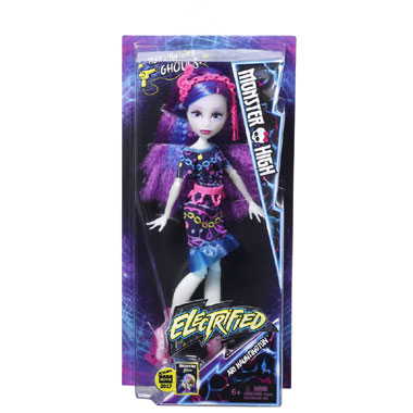 Monster High Electrified Hair-Raising Ghouls pop Ari Hauntington